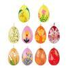 Свеча Пасхальная в форме яйца, 5,5х4,5см, парафин, 10видов 508-637